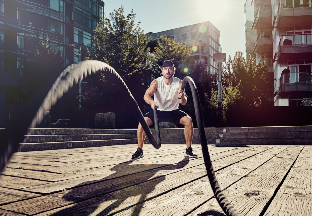 2017 - Vancouver - Sports and Fitness - Photographer - Erich Saide - Advertising - Lifestyle - Battleropes